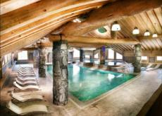 La Rosiere Ski in/Out chalet apt- HALF TERM