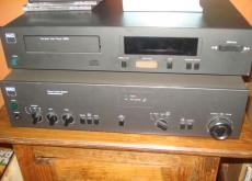 NAD CD Player, Amplifier and Speakers