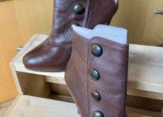 Steve Madden Brown Leather Boots Size 6