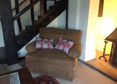 American sofa & 2 arm chairs