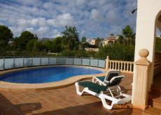 Detached villa Costa Blanca private pool/gdns