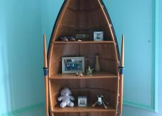 Shelving Unit - Rowing Boat Style