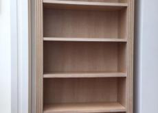 Heals Limed Oak Bookcase