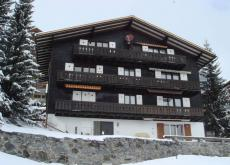 Ski apartment in car free Murren