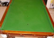 Slate Billiard Table & Separate Stand