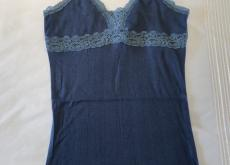 Abercrombie Blue Lacy Camisole