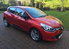 RED 2014 RENAULT CLIO DYNAMIQUE FOR SALE