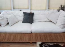 Conservatory Wicker Sofas & Chair