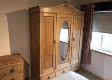 Attractive French antique wardrobe