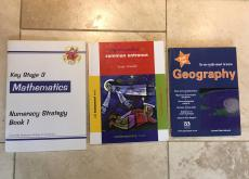 Selection of Common Entrance text books