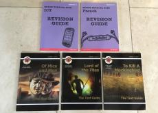 Selection of GCSE revision guides