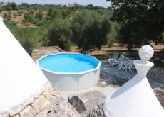 In Puglia, self catering quality trullo houses