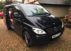 Mercedes people carrier Vito 5-7 seater