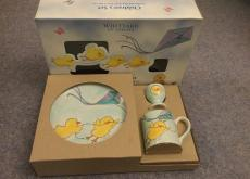 NEW WHITTARDS CHINA EGG CUP, PLATE, CUP SET