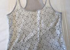 Hollister Cream Lacy Camisole