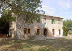 Stone Mill House With Pool Near Nimes