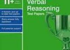 11+ Verbal Reasoning papers unused; as new.