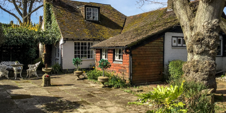 3 Bed House and Barn, Balcombe, Sussex £725k