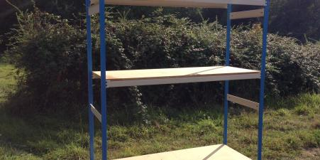 Flexible Shelf Units - Perfect for Garage or Shed