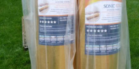 "2 new rolls""SONIC GOLD"" Vitrex acoustic underlay"