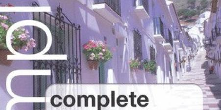 "Complete Spanish"" Book, 4 CDs, ipod/mp3 compatible"