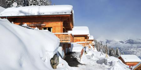 Luxury ski chalet in The Four Vallees