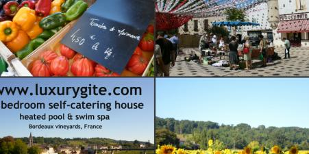 Bordeaux / Dordogne, heated pool & swim spa