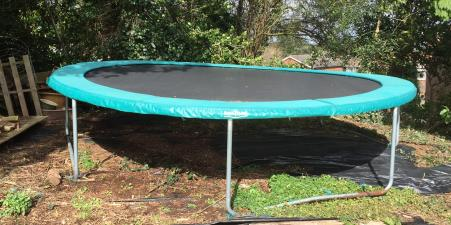 Supertramp Springtime 14ft Trampoline