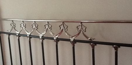Super King size sturdy metal headboard