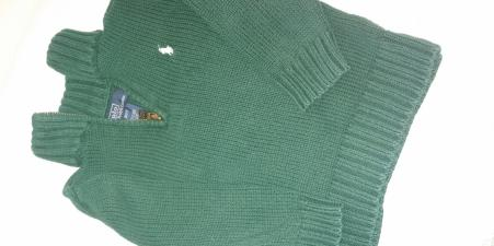 Polo Green Sweater