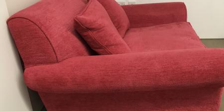 Conran 1.5 Winslow Sofa in Pink Chenille fabric