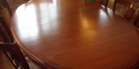 Grange Directoire 10 place Dining Room Table+8Ch