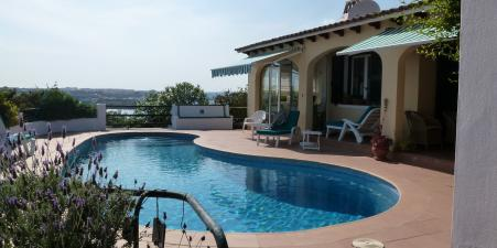 Menorcan Villa with outstanding  views of Harbour