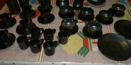 Kpalimé Kloto 1979 céramique coffee & tea set