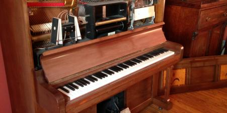 Pianola in working order