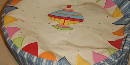 Win Green Playhouse tent, quilt and bean bag