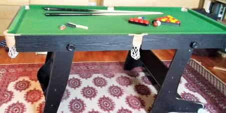 Folding BCE Games Table
