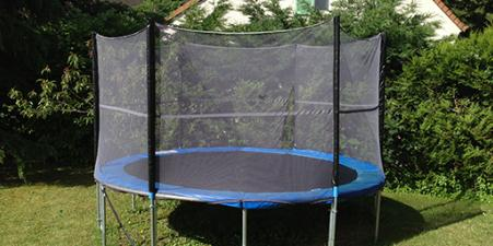 Trampoline 3.70 mt wide