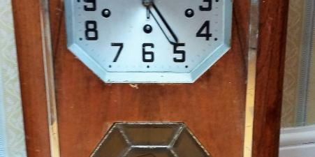 Art Deco hanging clock